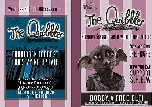 The Quibbler by Saskia Ahlbrecht