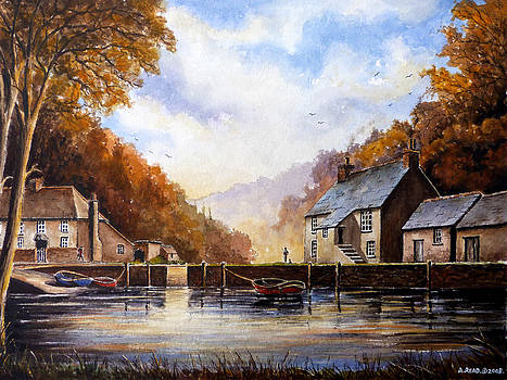 The Quiet Life Pont Cornwall by Andrew Read