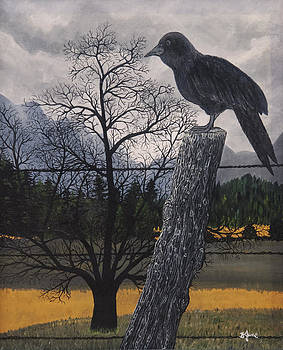 The Raven by BJ Hilton Hitchcock