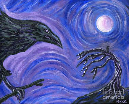The Raven by Roz Abellera Art