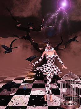 The Raven's Interlude by Putterhug  Studio