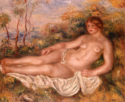 Pierre Auguste Renoir - The Reclining Bather 1906