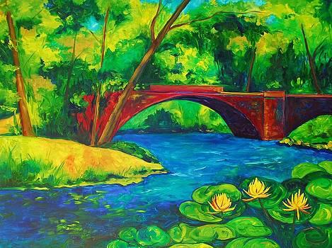 The Red Bridge by Brandi  Hickman