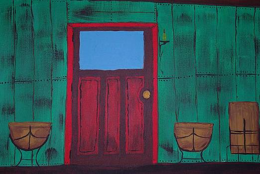 The Red Door by Keith Nichols