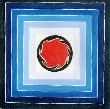The Red in Blue by Anupam Gupta
