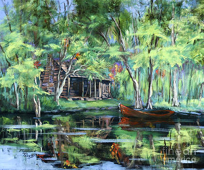 The Red Pirogue by Dianne Parks