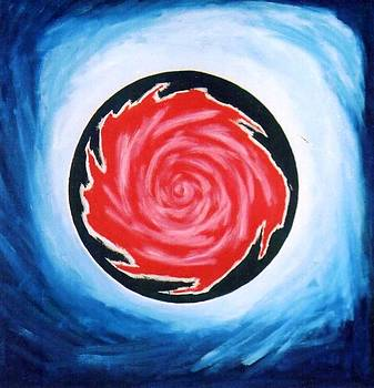 The Red  Rose by Anupam Gupta