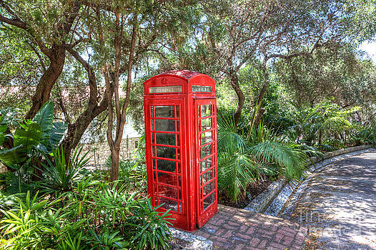 English Landscapes - The Red Telephone Box