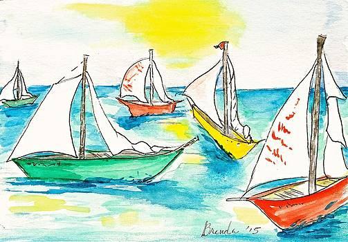 The Regatta by Brenda Ruark