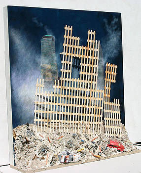 The Remains of the World Trade Center by Hely Lima
