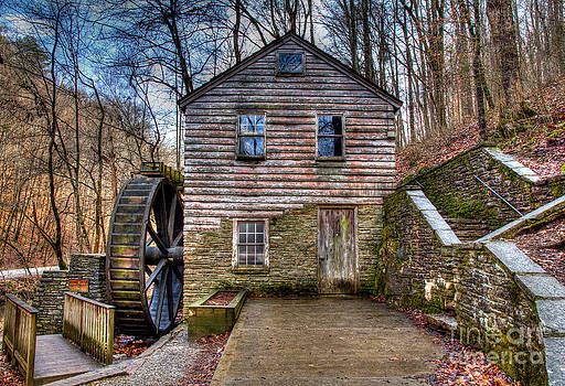 The Rice Gristmill Hdr by Douglas Stucky