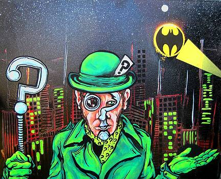 The Riddler by Jacob Wayne Bryner