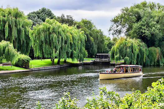 The River Cruise by Trevor Wintle