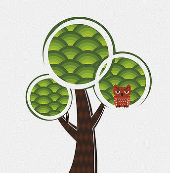 The Round Tree by Cosmin Bicu