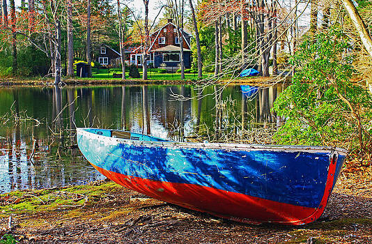 The row boat by Mikki Cucuzzo