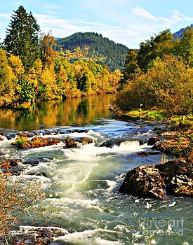 The Row River in Oregon by Mindy Bench