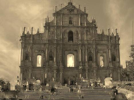 The Ruins of St. Paul Cathedral by Mita Garcia