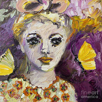 Ginette Fine Art LLC Ginette Callaway - The Sadness In Her Eyes