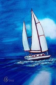 The Sailboat by Catherine Jeffrey