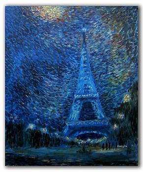 The Same Eiffel Tower by Alexander Bukhanov