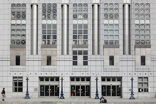 Wingsdomain Art and Photography - The San Francisco Public Library 5D22601