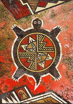 The sand turtle by Sergey Khreschatov