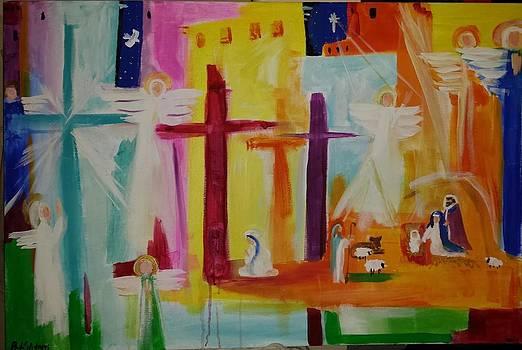 The Savior Christ is born by Paula Stacy Adams