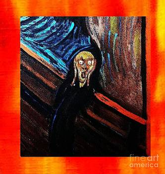 The scream framed by Israel  A Torres
