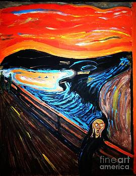 The Scream Reproduction by Israel  A Torres