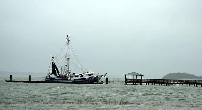The Sea Trawler Docked at Hilton Head Island by Kim Pate