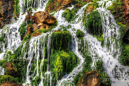 English Landscapes - The Seawater Waterfall