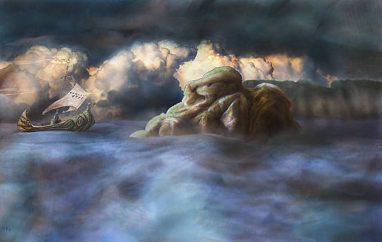 The Serpent at Sock Island by Nicholas Vermes