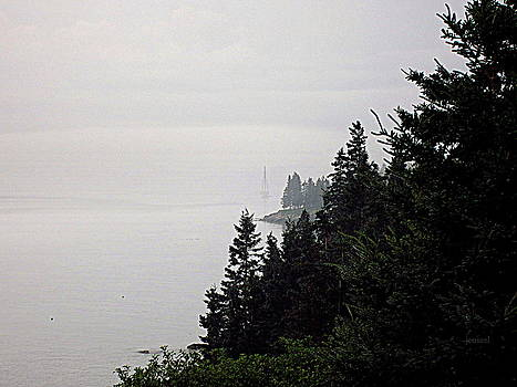 The Ship in the Fog  by Jen Seel