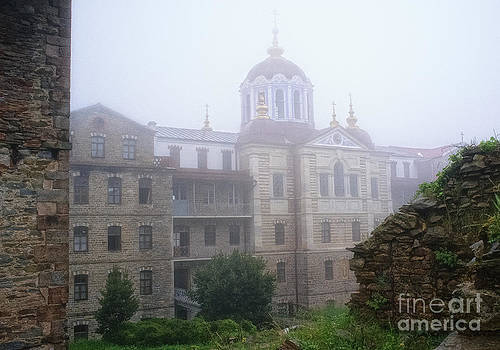 The Skete of Saint Andrew in Karyes  by Mount Athos