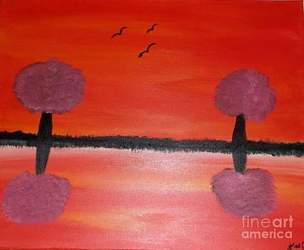 The Sky Burns Red by Krystal Jost