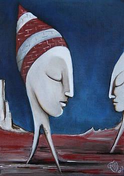 The Sleepers  by Simona  Mereu