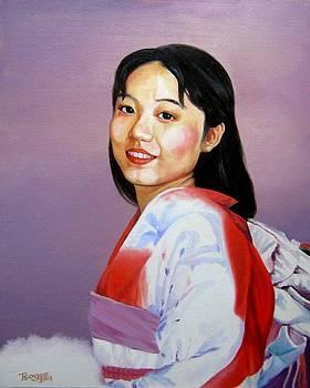 The Smile for Decorate My Life by Tsogbayar Chuluunbaatar