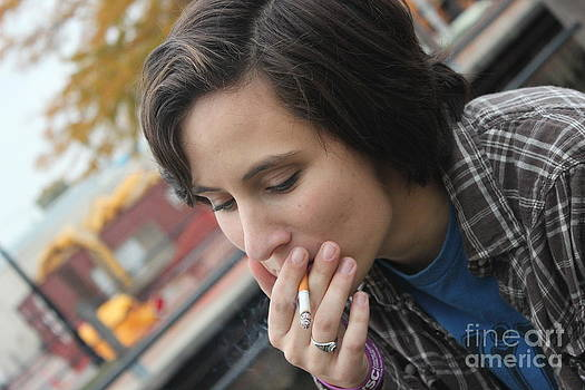The Smoker by Rebecca Lauber