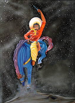 The Space Cowboy by Joe Prater