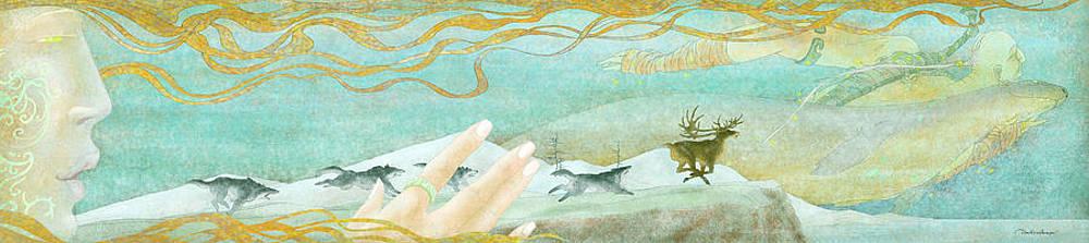 The Spirit Of The North-west Wind by Dmitry Rezchikov