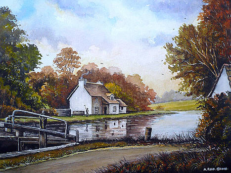 The Staffordshire and Worcestershire canal by Andrew Read