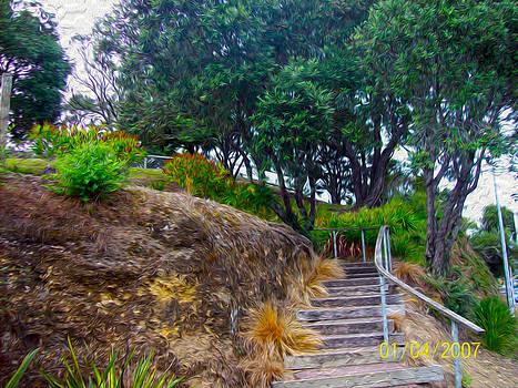 The Stairway Garden by Gabriel Jeane