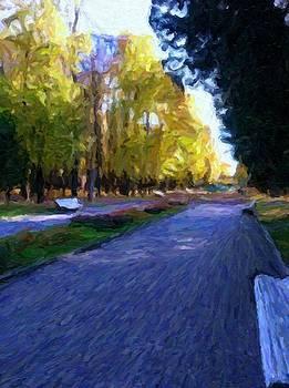The Strolling Path by Carol Sullivan