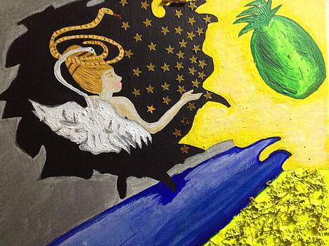 The Tailed Flower the Kiwi and the bad snake by Tania  Katzouraki