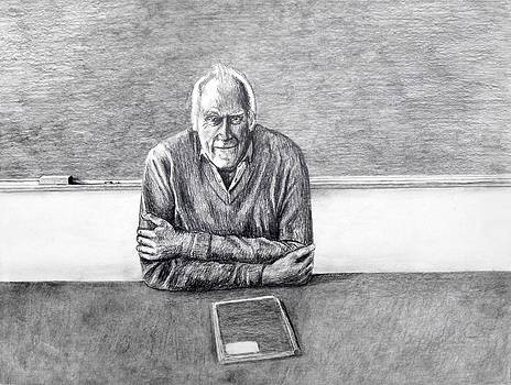 The Teacher/pencil by Todd Spaur