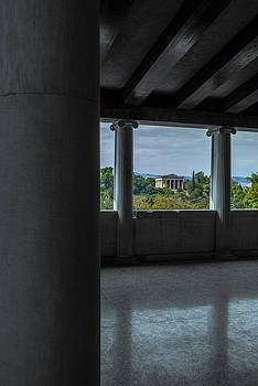 The temple of Hephaestus by Stavros Argyropoulos