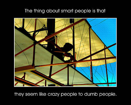 The Thing about Smart People by Mike Flynn