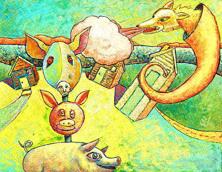 The Three Pigs by Ronald Walker