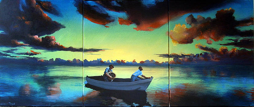 The Tom Benton Fising Fleet by Geoff Greene