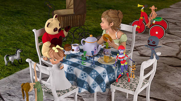 Liam Liberty - The Toy Tea Party
